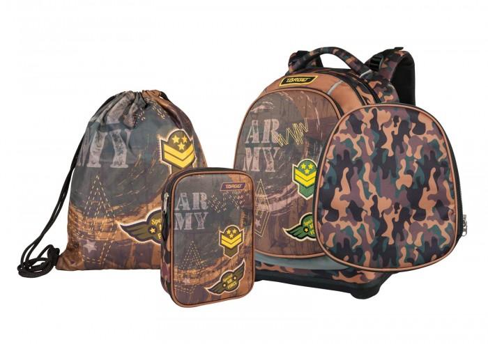 Купить Школьные рюкзаки, Target Collection Рюкзак супер лёгкий Mimetic Army 3 в 1
