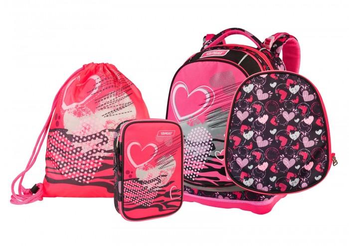 Купить Школьные рюкзаки, Target Collection Рюкзак супер лёгкий Within Hearts 3 в 1