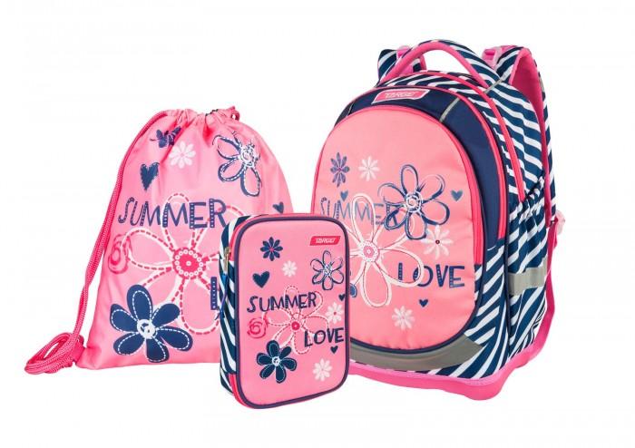 Купить Школьные рюкзаки, Target Collection Рюкзак супер лёгкий Summer Love 3 в 1