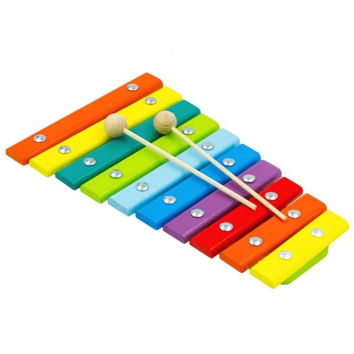 цена на Музыкальные инструменты Alatoys Ксилофон 10 нот