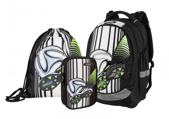 Купить Школьные рюкзаки, Target Collection Рюкзак супер лёгкий Football Blatte 3 в 1