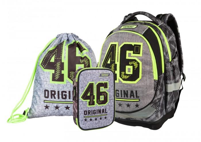 Купить Школьные рюкзаки, Target Collection Рюкзак супер лёгкий 46 Original 3 в 1