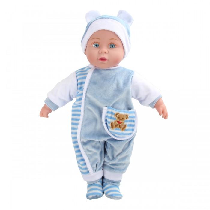 Lisa Doll Кукла интерактивная в голубом 40 см