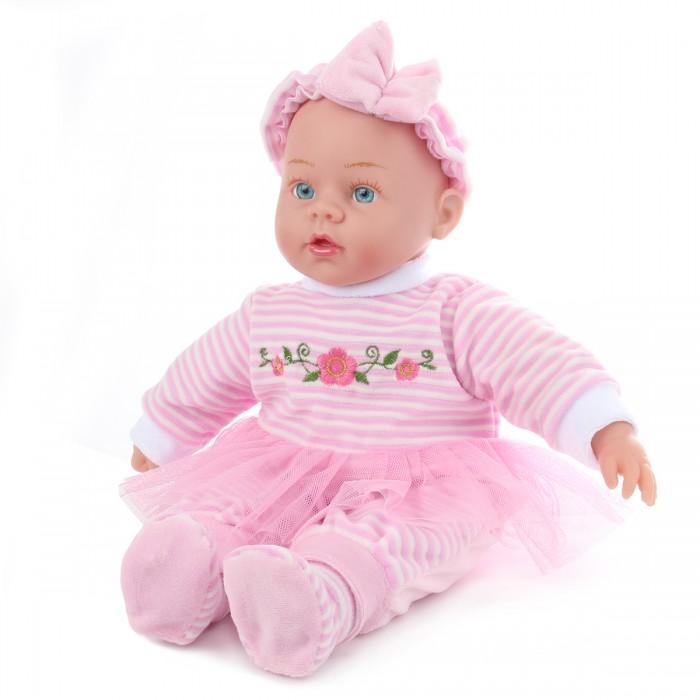 Lisa Doll Кукла интерактивная в розовом костюмчике 40 см