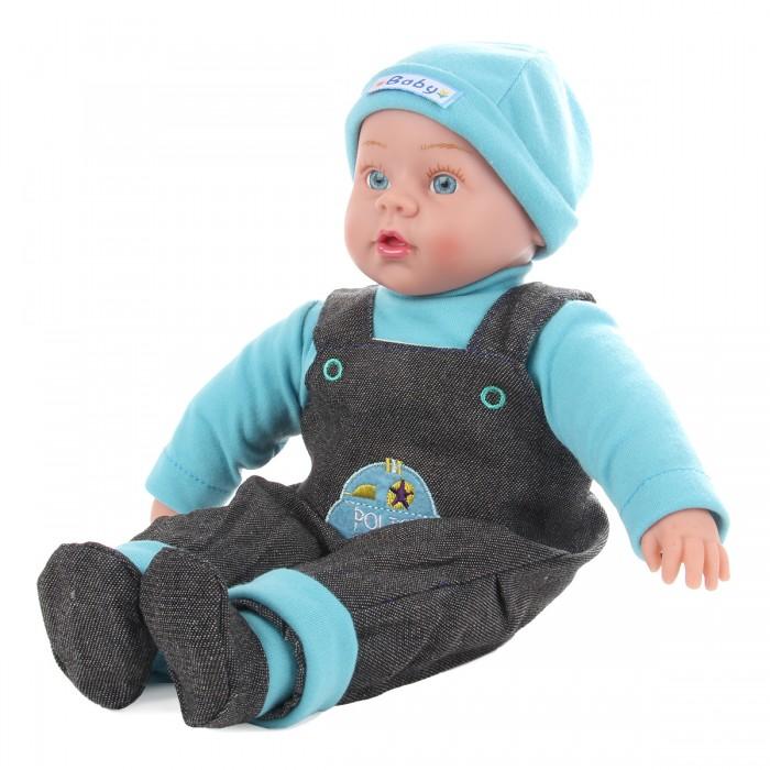 Lisa Doll Кукла интерактивная голубой деним 40 см