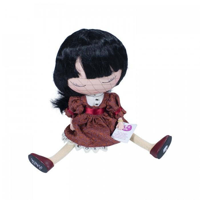 Картинка для Berjuan S.L. Кукла Anekke сладкая в красном наряде 32 см