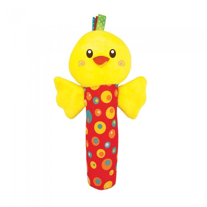 Развивающие игрушки Азбукварик Пищалка Цыпленок Люленьки азбукварик игрушка развивающая азбукварик плюшики цыпленок