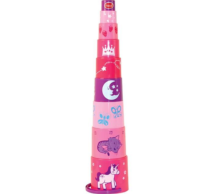 Развивающая игрушка Gowi Пирамида Принцесса 9 деталей