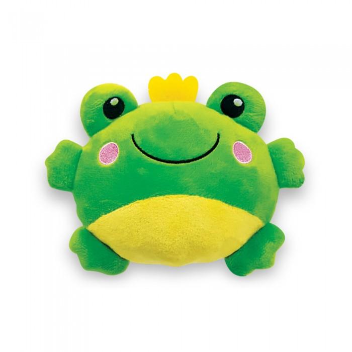 Мягкие игрушки Азбукварик Плюшики Лягушка Люленьки азбукварик игрушка развивающая азбукварик плюшики цыпленок