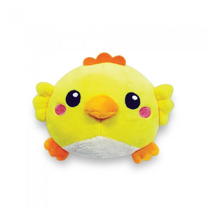 Мягкие игрушки Азбукварик Плюшики Цыпленок Люленьки азбукварик погремушка азбукварик люленьки квакушка