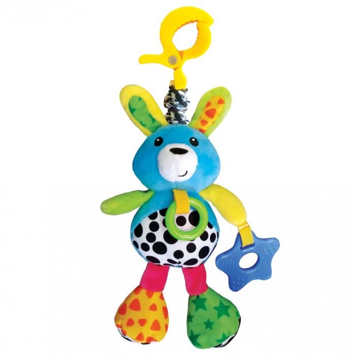 Подвесные игрушки Азбукварик Виброподвеска Зайчонок Люленьки азбукварик игрушка азбукварик бубен
