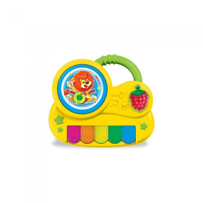 Развивающие игрушки Азбукварик Пианино с огоньками Львенок азбукварик игрушка азбукварик пианино с огоньками крошка енот