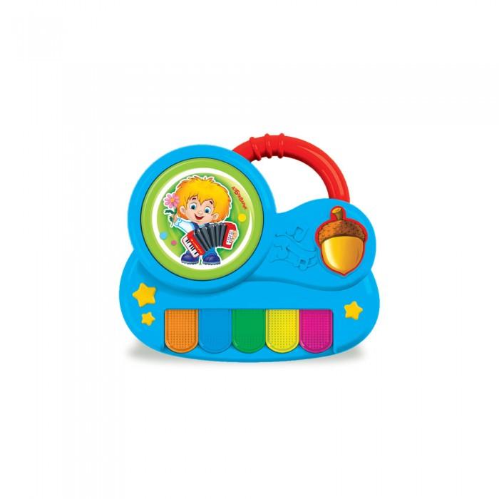 Развивающие игрушки Азбукварик Пианино с огоньками Антошка азбукварик игрушка азбукварик пианино с огоньками крошка енот