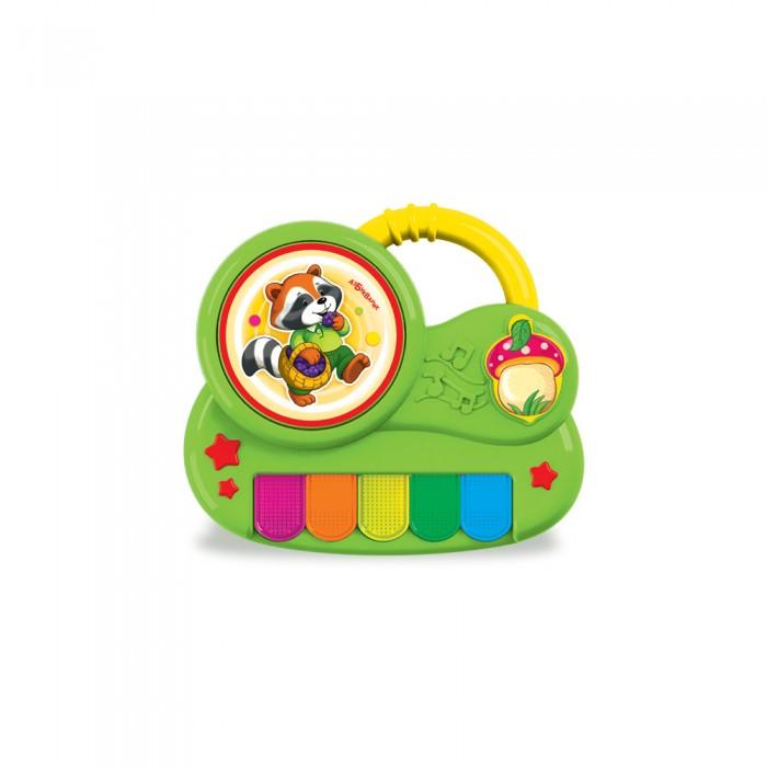 Развивающие игрушки Азбукварик Пианино с огоньками Крошка Енот азбукварик игрушка азбукварик пианино с огоньками крошка енот