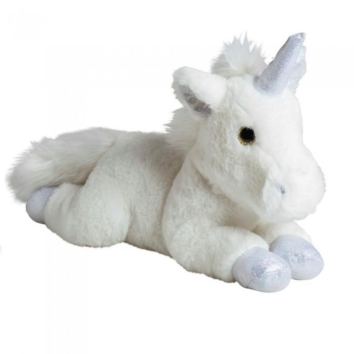 Мягкая игрушка Molli Единорог серебро 35 см