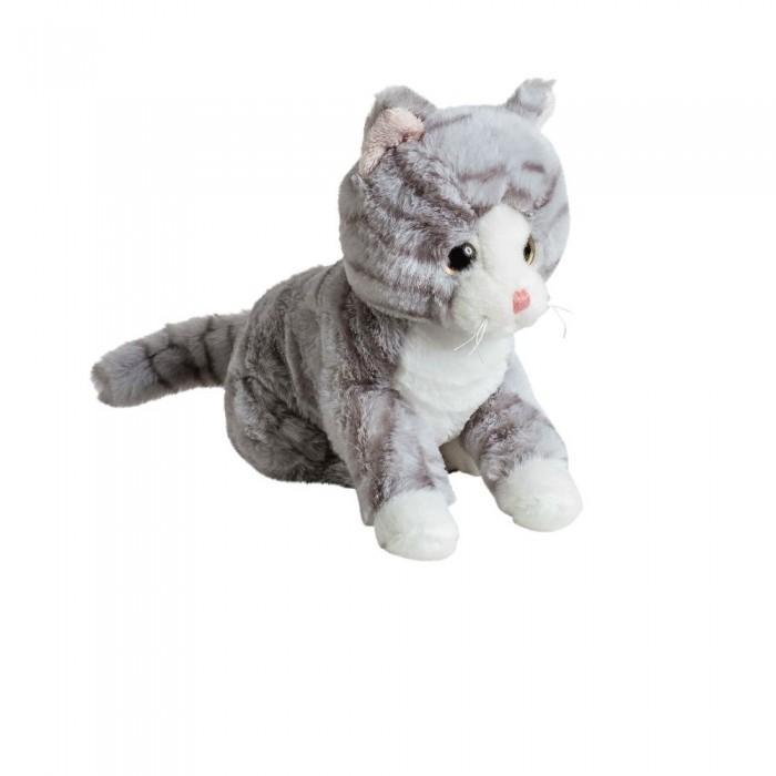 Фото - Мягкие игрушки Molli Кот серый 20 см мягкие игрушки molli бегемот 30 см