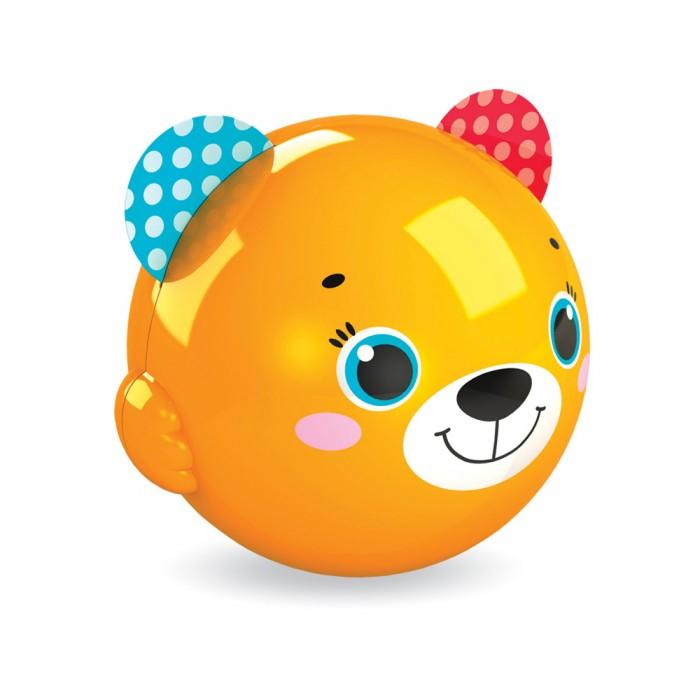 Развивающие игрушки Азбукварик Музыкальный мячик Смешинка Мишка азбукварик руль музыкальный азбукварик я водитель желтый