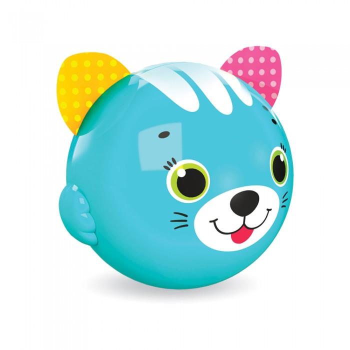 Развивающие игрушки Азбукварик Музыкальный мячик Смешинка Котик азбукварик каталка азбукварик котик