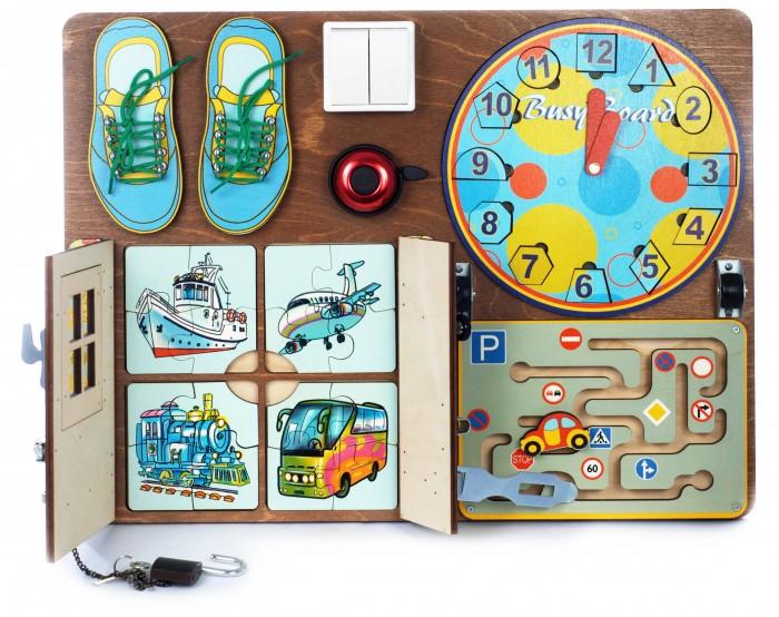 Купить Деревянные игрушки, Деревянная игрушка Нескучные Игры Бизиборд № 1 для мальчиков