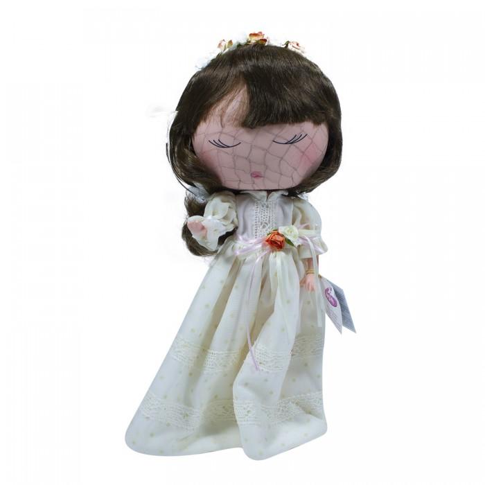 Куклы и одежда для кукол, Berjuan S.L. Кукла Anekke Причастие шатенка 32 см  - купить со скидкой