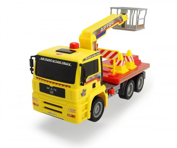 Dickie Грузовик с подъемным механизмом AirPumpГрузовик с подъемным механизмом AirPumpDickie Грузовик с подъемным механизмом AirPump, обязательно понравится вашему малышу и займет его внимание надолго.  В комплекте: Колеса грузовиков вращаются, их можно катать.  Все модели выполнены крайне детально и аккуратно, в ярких насыщенных цветах, тщательно проработан каждый элемент.  Изделия изготовлены из прочного и высококачественного пластика и прослужат вашему ребенку очень долго.<br>