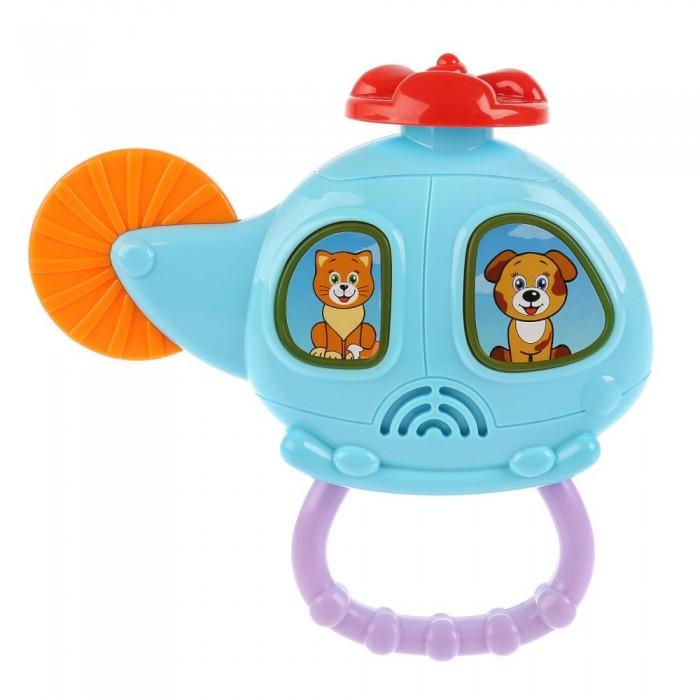 Купить Электронные игрушки, Умка Обучающий вертолёт с трещоткой