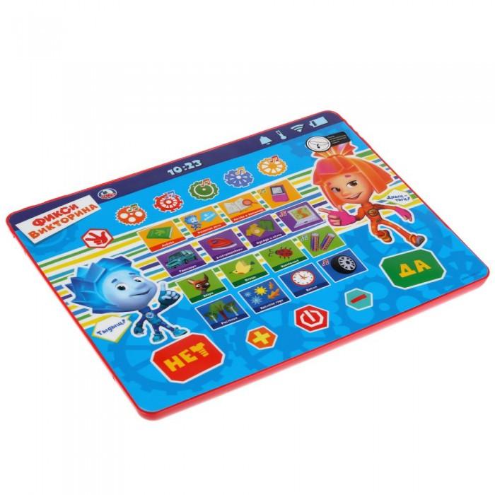 Электронные игрушки Умка Обучающий сенсорный планшет Фикси Викторина электронные игрушки умка обучающий сенсорный планшет фикси викторина