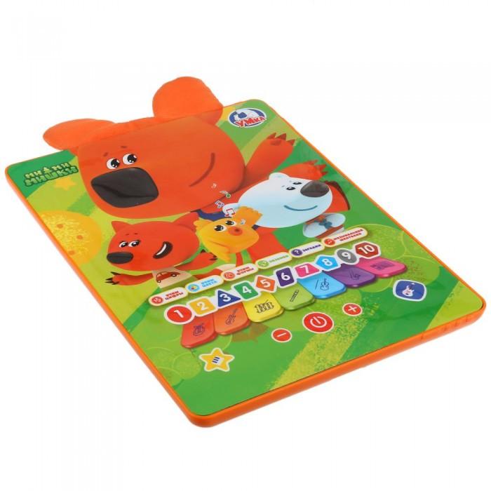 Электронные игрушки Умка Обучающий планшет с текстильными вставками Ми-ми-мишки электронные игрушки умка обучающий сенсорный планшет фикси викторина
