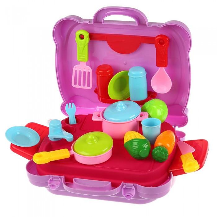 Купить Ролевые игры, Играем вместе Набор посуды Сказочный патруль Кухня в чемодане