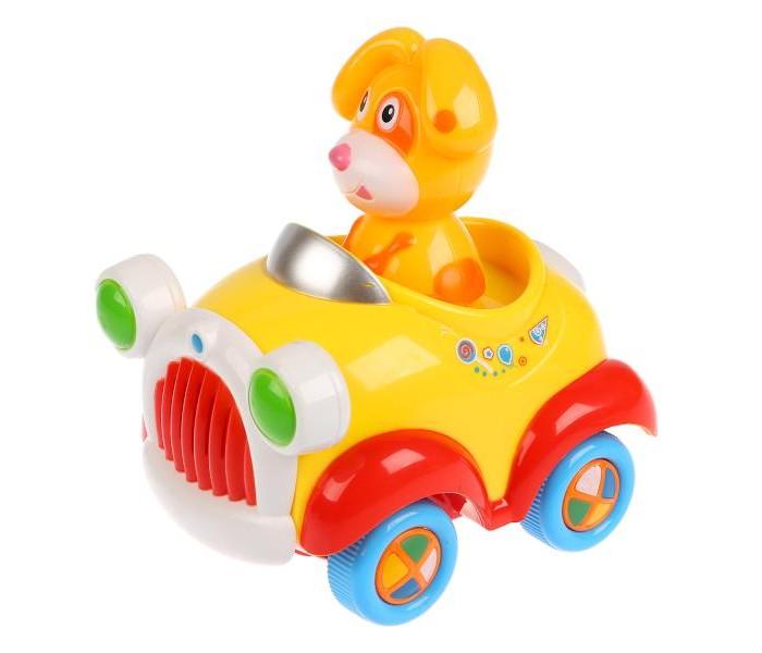 Купить Электронные игрушки, Умка развивающая игрушка-каталка Собачка
