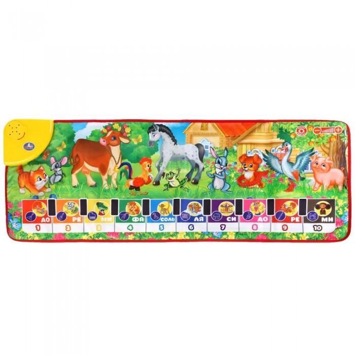 Купить Игровые коврики, Игровой коврик Умка танцевальный с пианино 100x36 см