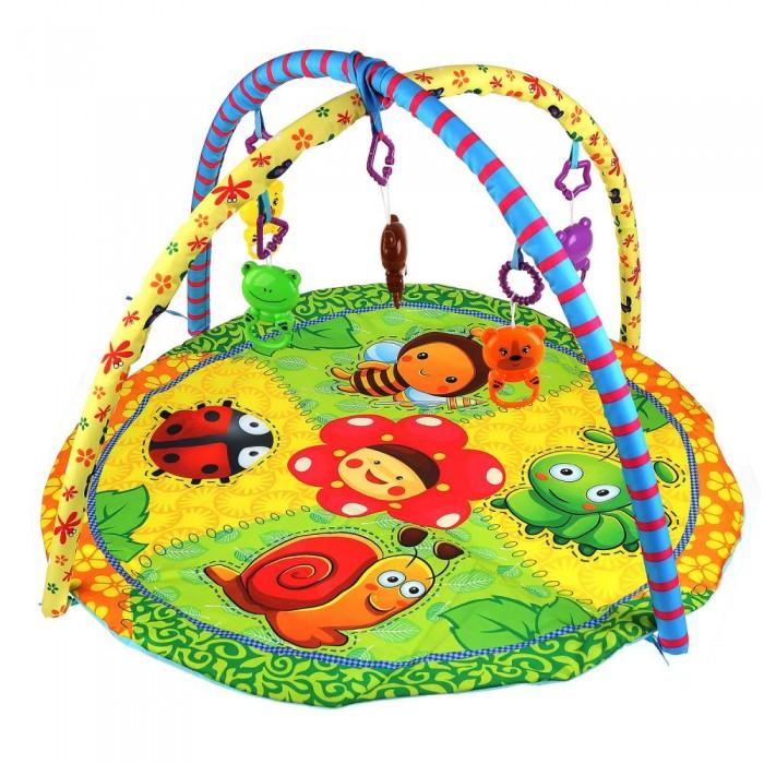 Купить Развивающие коврики, Развивающий коврик Умка Божья коровка с игрушками на подвеске