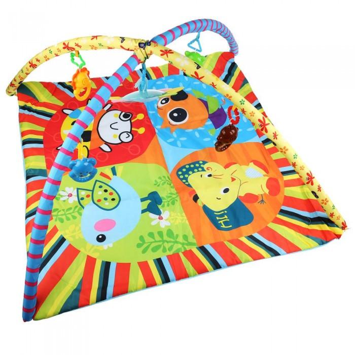 Купить Развивающие коврики, Развивающий коврик Умка Солнечный день с игрушками на подвеске