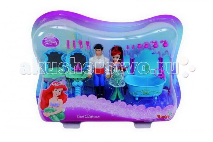 Игровые наборы Simba Игровой набор Мини-Ариель с принцем