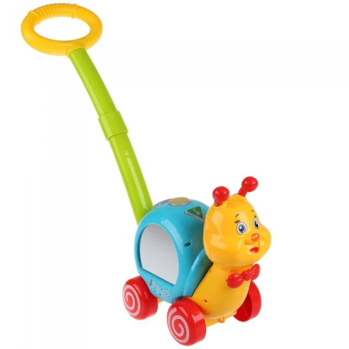 Купить Каталки-игрушки, Каталка-игрушка Умка Музыкальная улитка