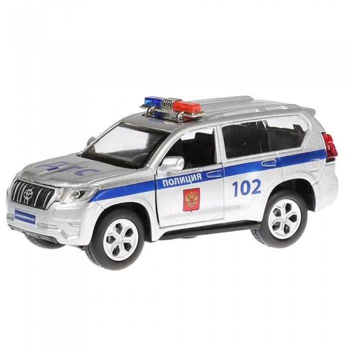 Машины Технопарк Машина Toyota Prado полиция 12 см технопарк машинка технопарк металлическая toyota prado полиция