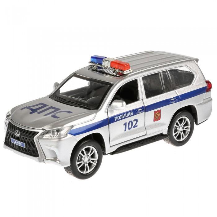 Купить Машины, Технопарк Машина Lexus LX-570 полиция 12 см