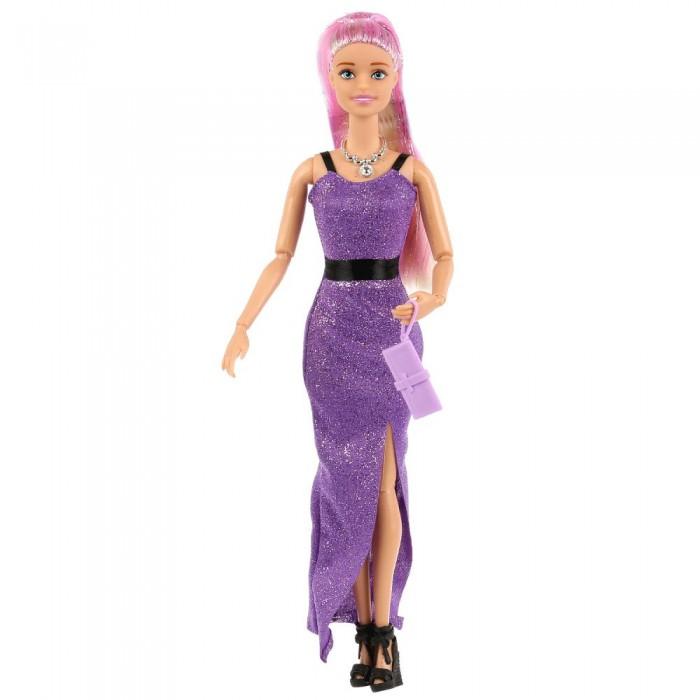 Купить Куклы и одежда для кукол, Карапуз Кукла в блестящем платье 29 см
