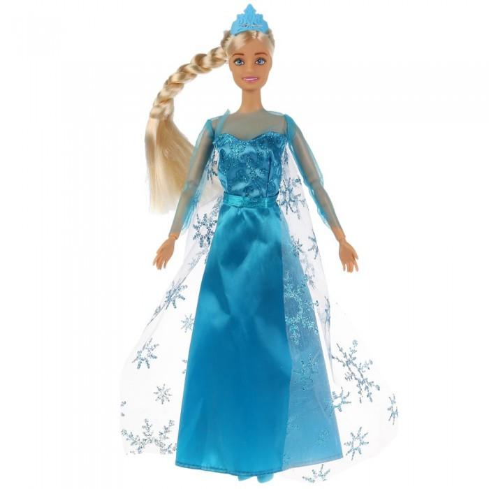 Купить Куклы и одежда для кукол, Карапуз Кукла снежная принцесса 29 см