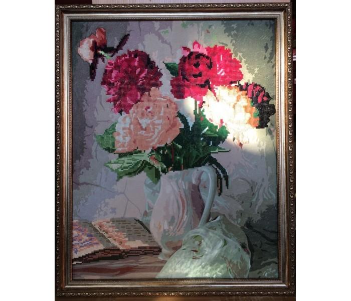 Купить Картины своими руками, Color Kit Мозаичная картина Пионы в вазе
