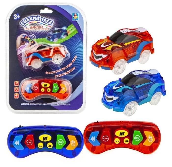 Машины 1 Toy Гибкий трек с машинкой на радиоуправлении