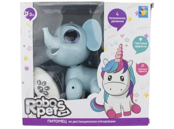 Интерактивная игрушка 1 Toy Robo Pets Слоник