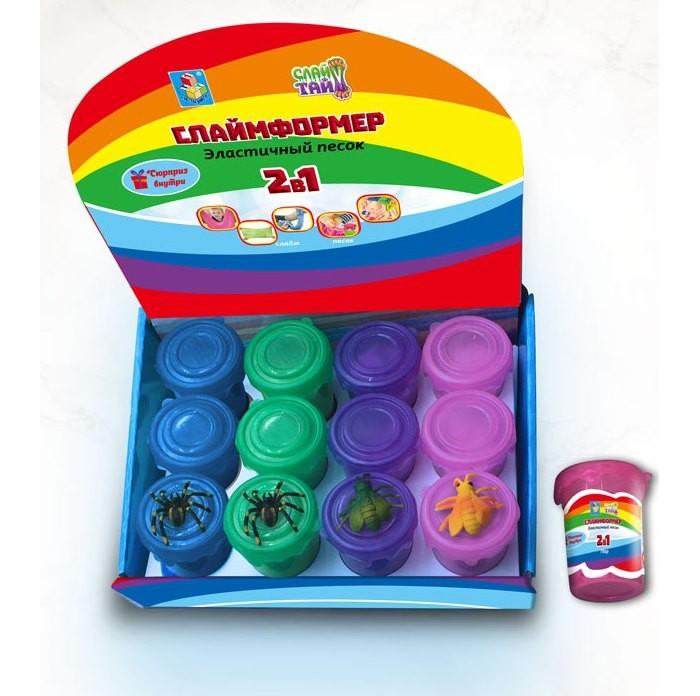 Развивающие игрушки Слайм Тайм Слаймформер 70 г игрушка с конфетами pez вкус ассорти 70 г