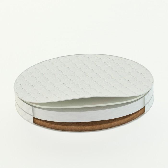 Матрас DreamTex для круглой кроватки Dreams Стандарт 73х73х9 см
