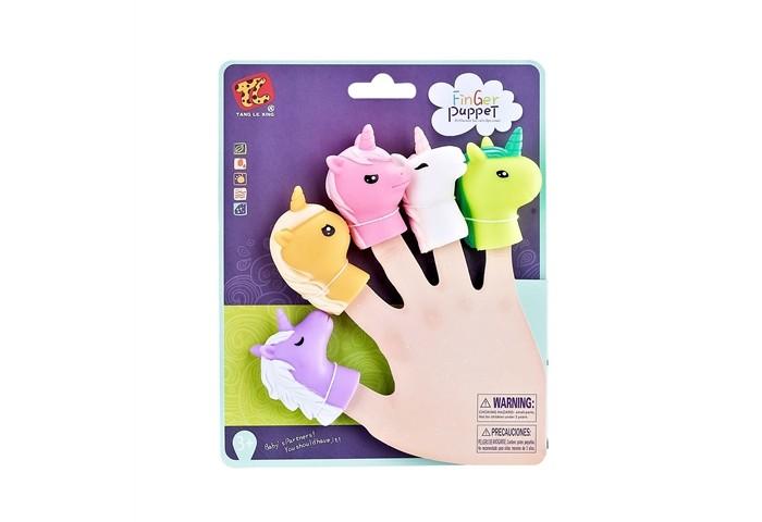 Ролевые игры Finger Puppets Пальчиковый театр Единорог, 5 фигурок
