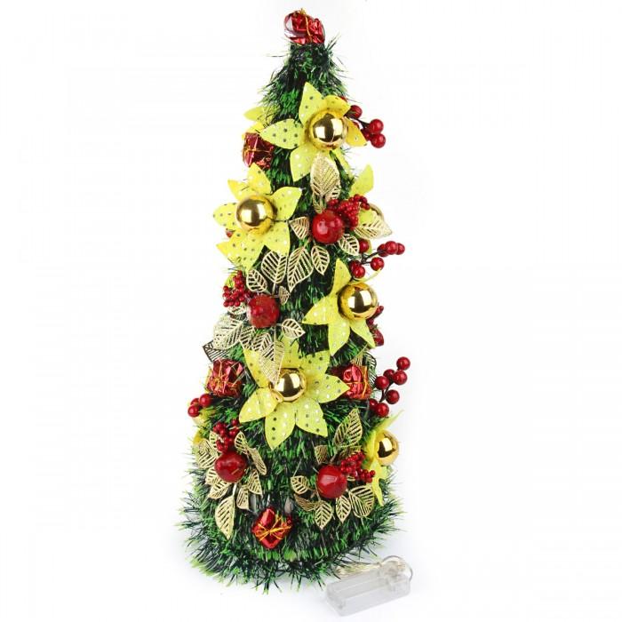 Картинка для Искусственные елки Веселый хоровод Ель декоративная светящаяся 50 см