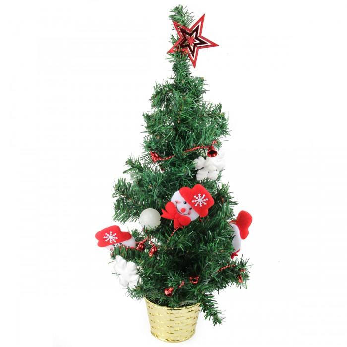 Картинка для Искусственные елки Веселый хоровод Ель декоративная с украшениями 60 см
