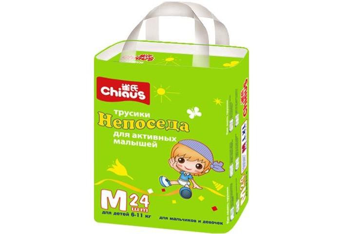 Подгузники-трусики Chiaus Подгузники-трусики Непоседа M (6-11 кг) 24 шт.