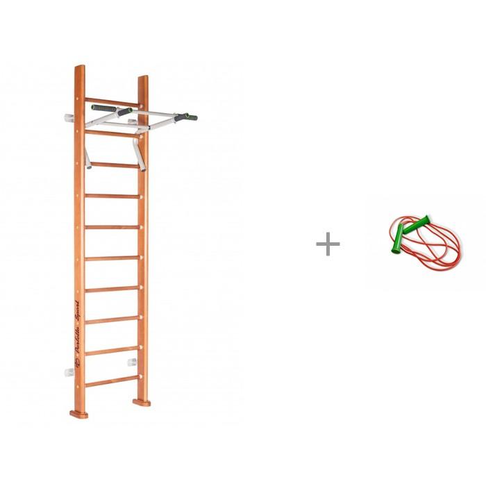 Купить Perfetto Sport Шведская стенка Rapido PS-102 со скакалкой Стеллар 2.2 метра в интернет магазине. Цены, фото, описания, характеристики, отзывы, обзоры