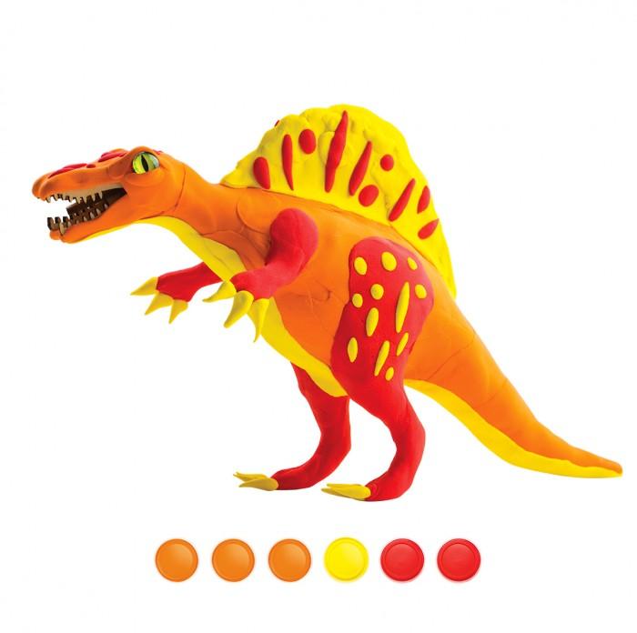 Развивающие игрушки Robotime Конструктор + лепка Спинозавр